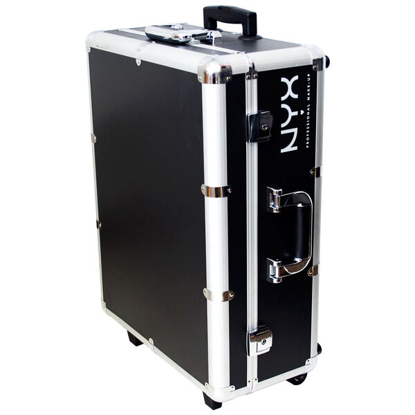 X large makeup artist train case with lights nyx for Miroir 9 cases