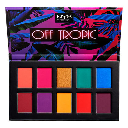 Off Tropic Shadow Palette Nyx Professional Makeup