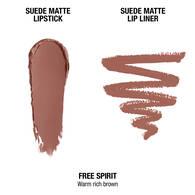 Suede Matte Lip Kit - Free Spirit