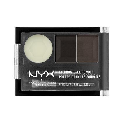 Eyebrow Cake Powder By Nyx In Auburn Red