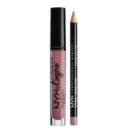 Lip Lingerie Lippie Duo - Embellishment & Never