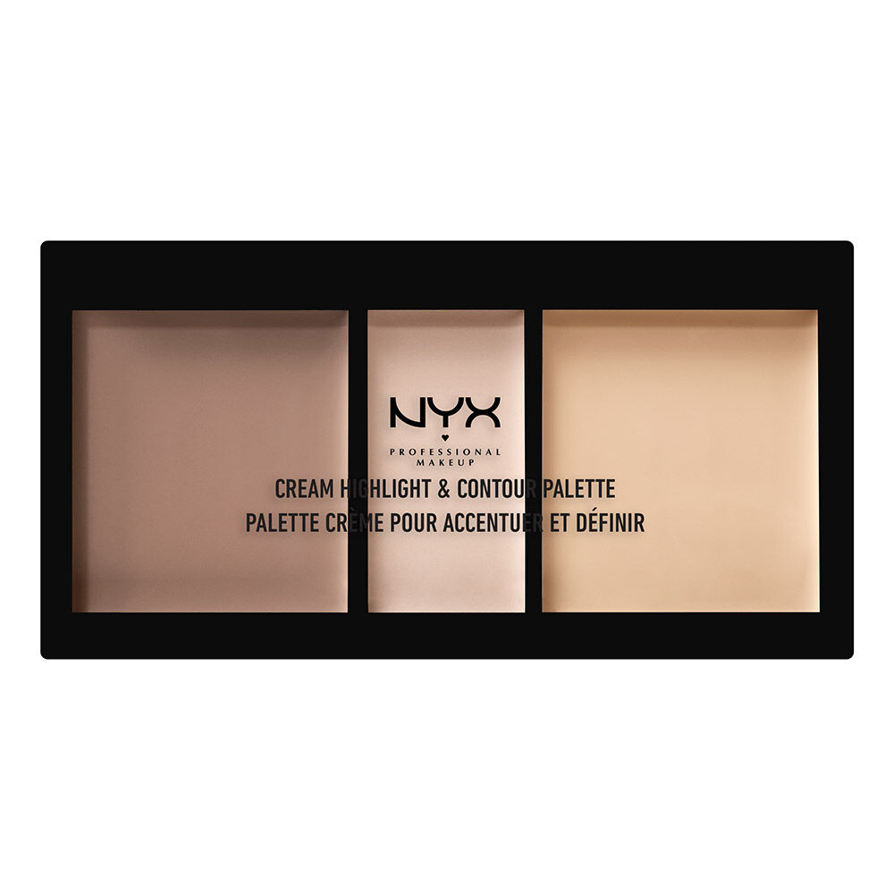 Cream Highlight Contour Palette Nyx Professional Makeup