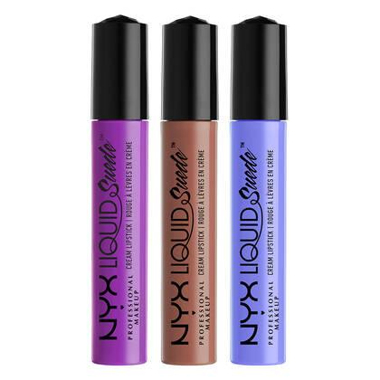 Liquid Suede Cream Lipstick Set 5