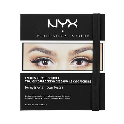 Eyebrow Kit With Stencil