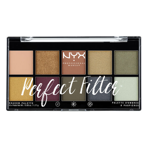 Perfect Filter Shadow Palette Nyx Professional Makeup