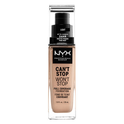 ad5a32a67e2 Can't Stop Won't Stop Full Coverage Foundation | NYX Professional Makeup