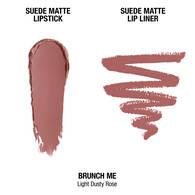 Suede Matte Lip Kit - Brunch Me