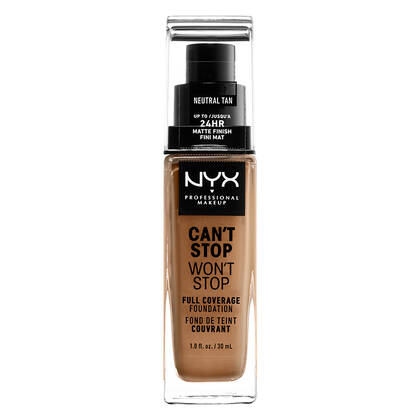 Cant Stop Wont Full Coverage Foundation