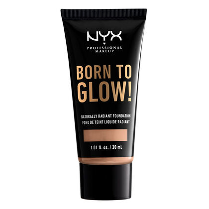 Image result for nyx born to glow foundation