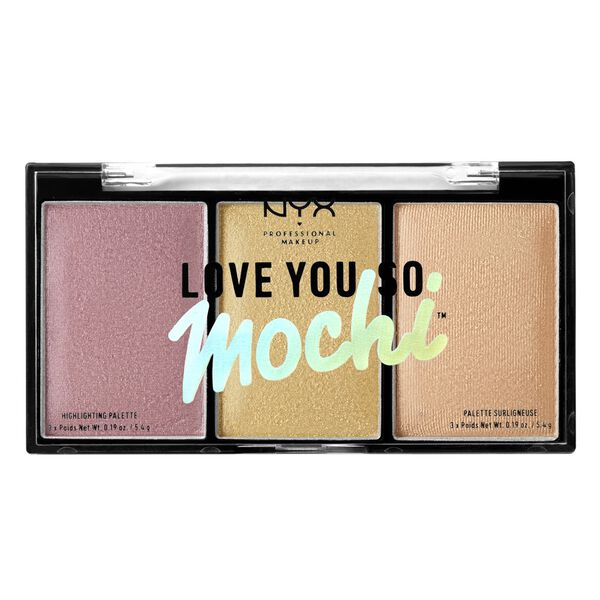 Love You So Mochi Highlighting Palette Nyx Professional