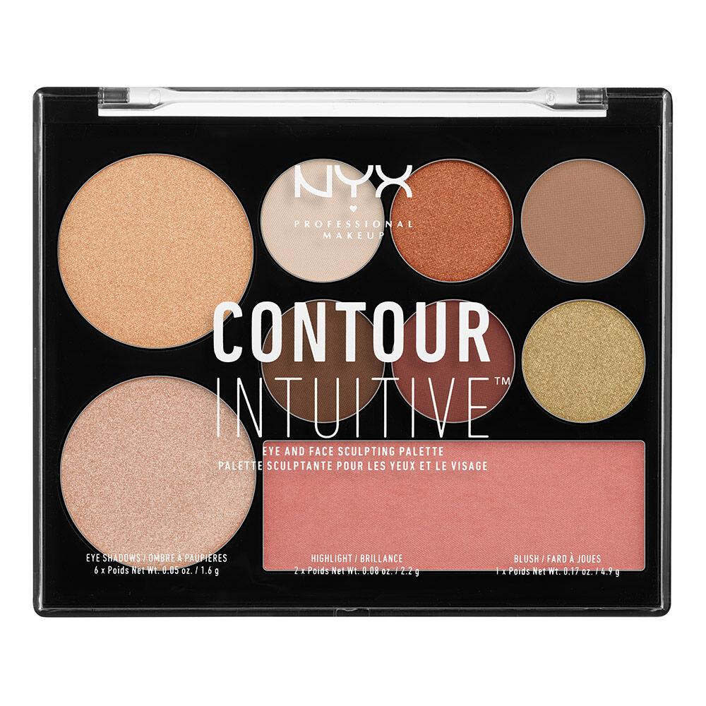 Contour Intuitive Palette Nyx Professional Makeup