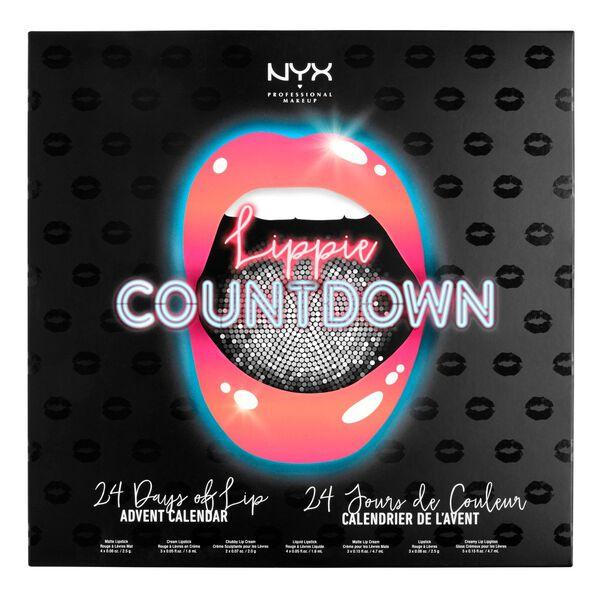 nyxin joulukalenteri 2018 Lippie Countdown Advent Calendar | NYX Professional Makeup nyxin joulukalenteri 2018