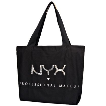 Sequined Canvas Tote