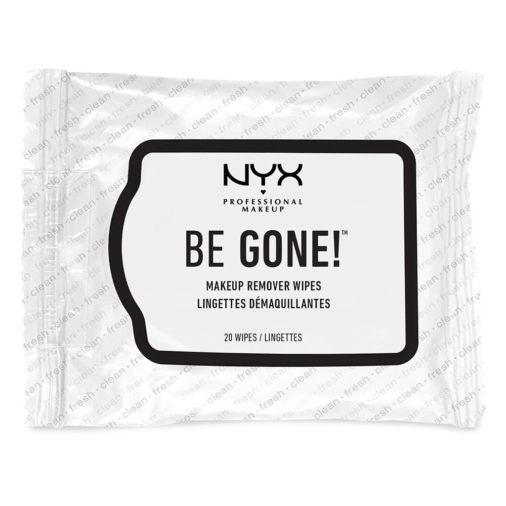(3 Pack) NYX Be Gone Makeup Remover Wipes - White Sisley Phyto Lip Twist Matte Tinted Balm 22 Burgundy 0.08oz  2.5g