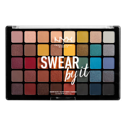 "Swear By It Shadow Palette              <Span Class=""Product.Sample.Minicart.Class.Variationdetails""></Span> by Nyx Cosmetics"