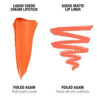 Liquid Suede Lip Kit - Foiled Again