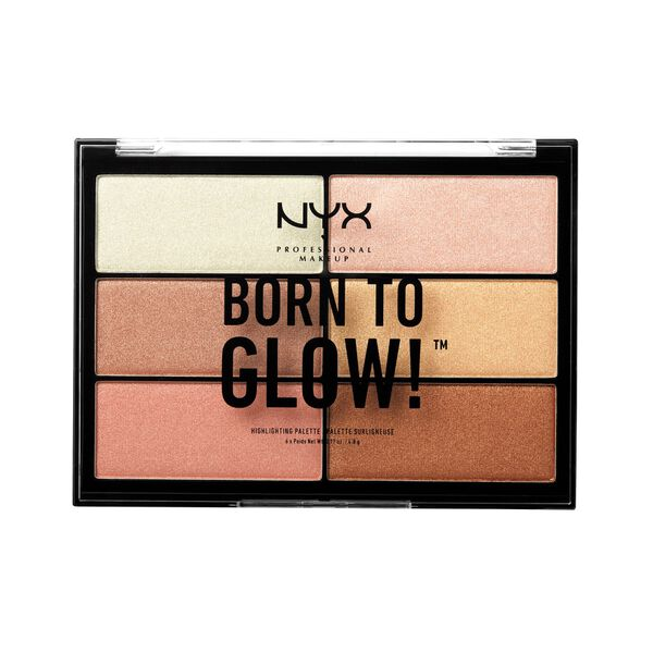 Born To Glow Highlighting Palette Nyx Professional Makeup