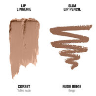 Lip Lingerie Lippie Duo - Corset & Nude Beige
