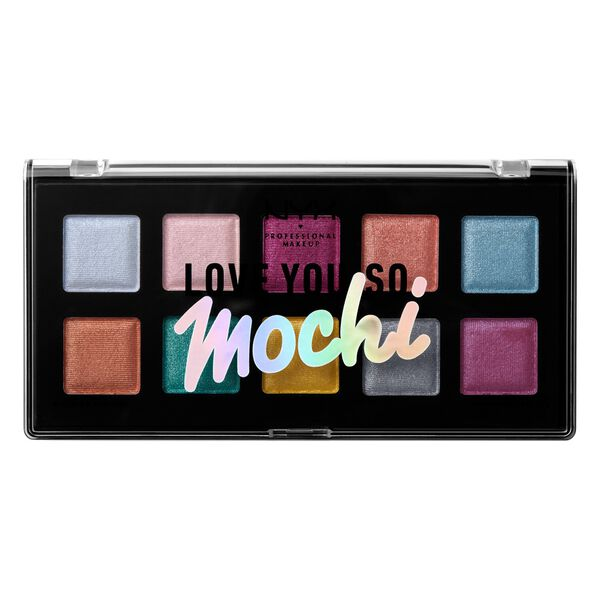 Love You So Mochi Eyeshadow Palette Nyx Professional Makeup
