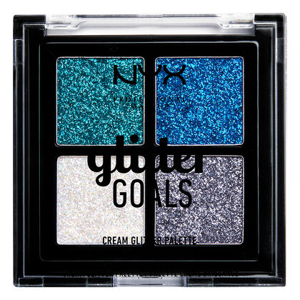 Glitter Goals Cream Quad Palette