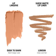 Lip Lingerie Lippie Duo - Dusk To Dawn & London