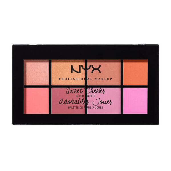 Sweet Cheeks Blush Palette Nyx Professional Makeup