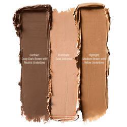 Cream Highlight & Contour Palette