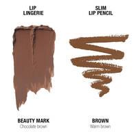 Lip Lingerie Lippie Duo - Beauty Mark & Brown