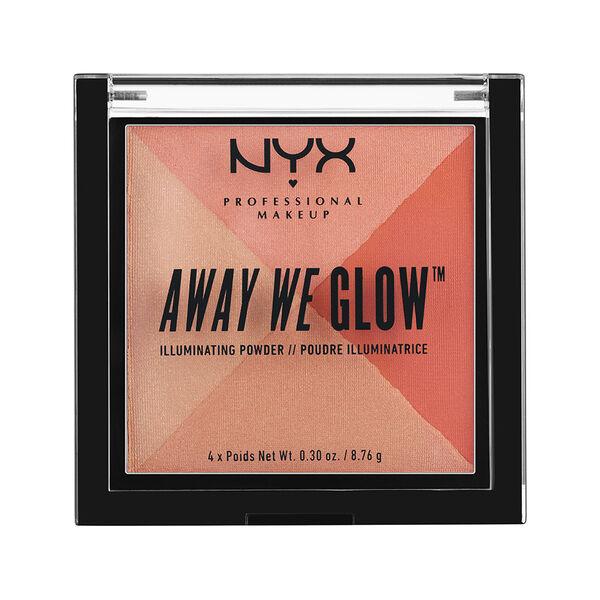 """Resultado de imagen de """"Away we glow"""", de NYX."""