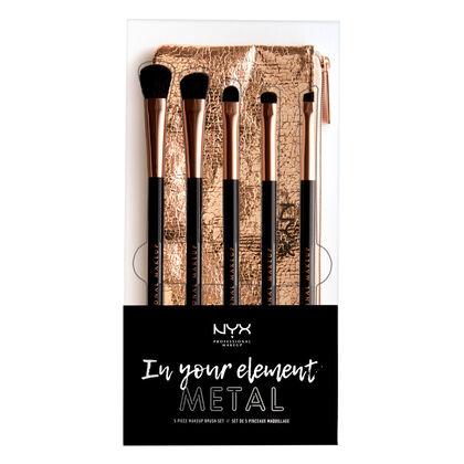 In Your Element Metallics Eye Brush Set