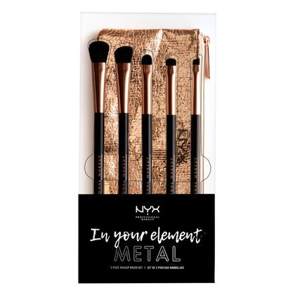 In Your Element Metallics Eye Brush Set