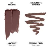 Lip Lingerie Lippie Duo - Confident & Brooklyn Thorn