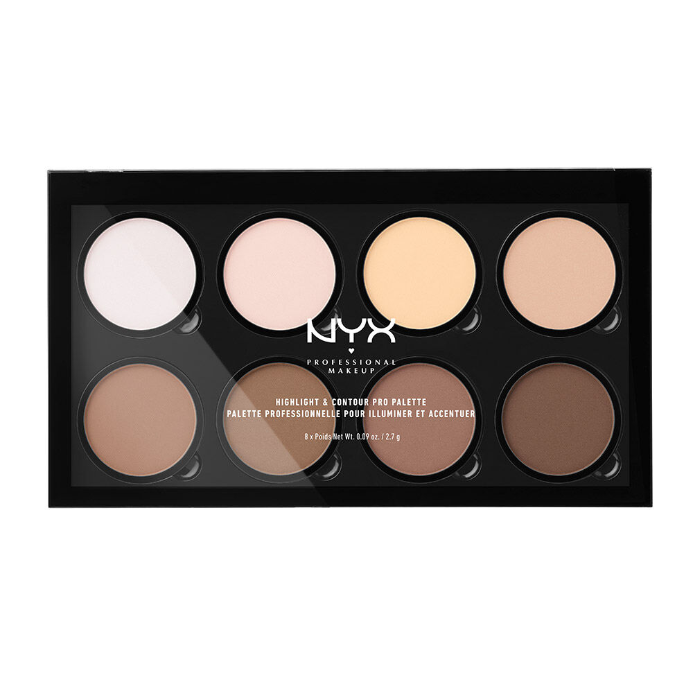 Eye Shadow Supply New Makeup Oil Control Brightening Palette Bronze Highlighter Press Powder Liquid Foundation Correction Outline Baking Powder