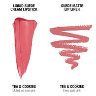 Liquid Suede Lip Kit - Tea & Cookies