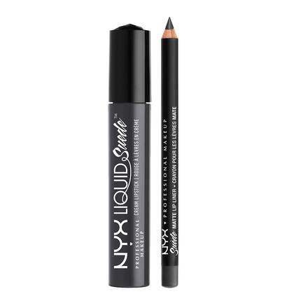 Liquid Suede Lip Kit - Stone Fox