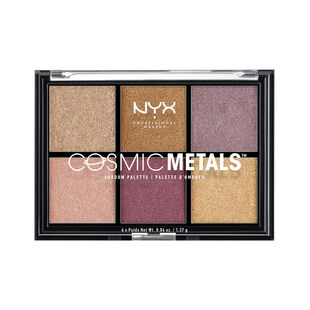 Cosmic Metals Shadow Palette Nyx Professional Makeup