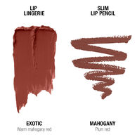 Lip Lingerie Lippie Duo - Exotic & Mahogany