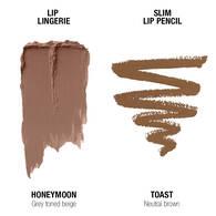 Lip Lingerie Lippie Duo - Honeymoon & Toast