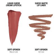 Liquid Suede Lippie Duo - Soft Spoken