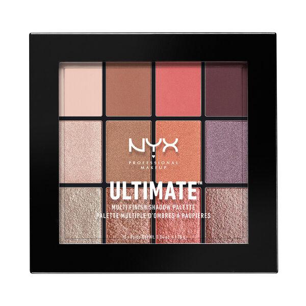 ultimate multi finish shadow palette nyx professional makeup. Black Bedroom Furniture Sets. Home Design Ideas