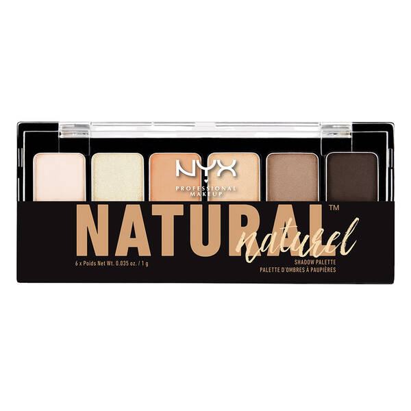 The Natural Shadow Palette Nyx Professional Makeup