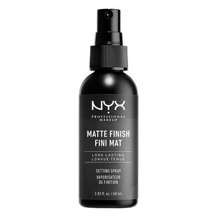 NYX Professional Makeup Matte Finish Setting Spray Review