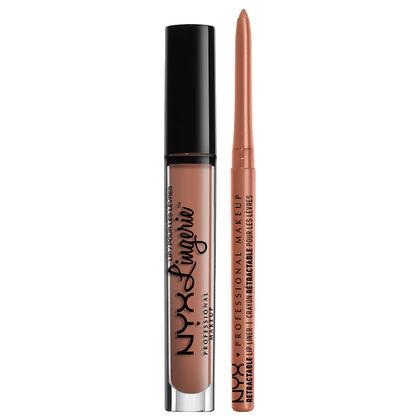 Lip Lingerie Lippie Duo - Lace Detail & Nude