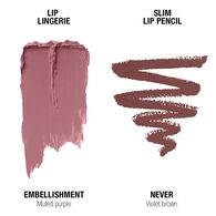 Lip Lingerie Lippie Duo - Embellishment & Never