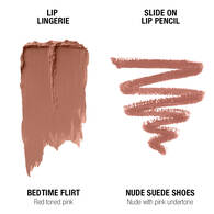 Lip Lingerie Lippie Duo - Bedtime Flirt & Nude Suede Shoes
