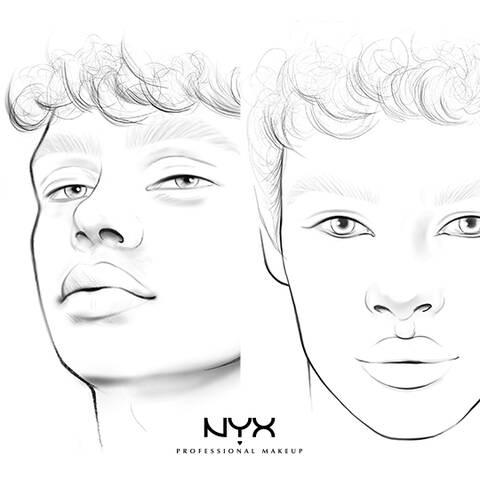 Beauty Face Charts Nyx Professional