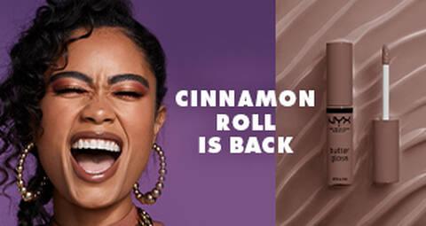 Cinnamon Roll Butter Lip Gloss. OG Cinnamon Roll is back!