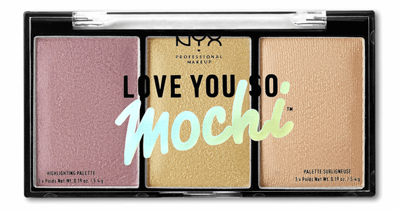 Love you so Mochi Highlight Palette Lit Life palette