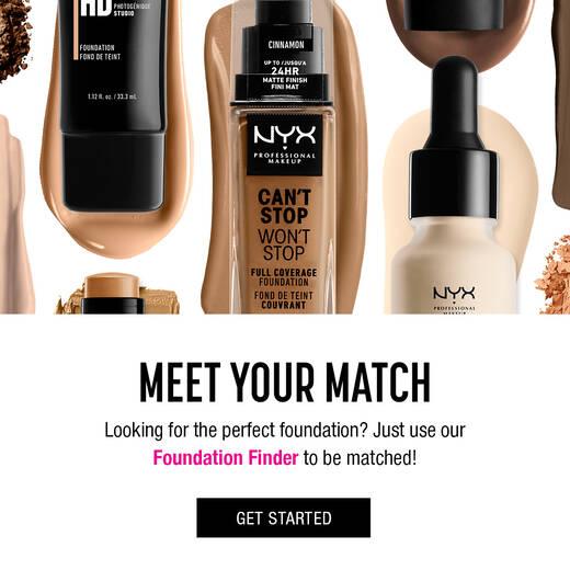 Foundation Finder Nyx Professional Makeup