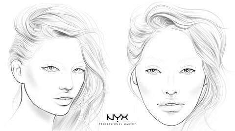 Face Charts Nyx Professional Makeup